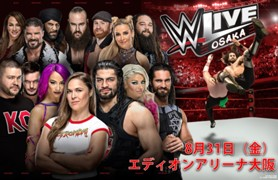 WWE 大阪公演 2018 8月 ロウ ロンダ・ラウジー