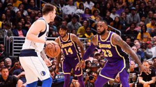 LeBron James Lakers Luka Doncic Mavericks