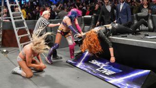 WWE, スマックダウン, #1008, 試合結果