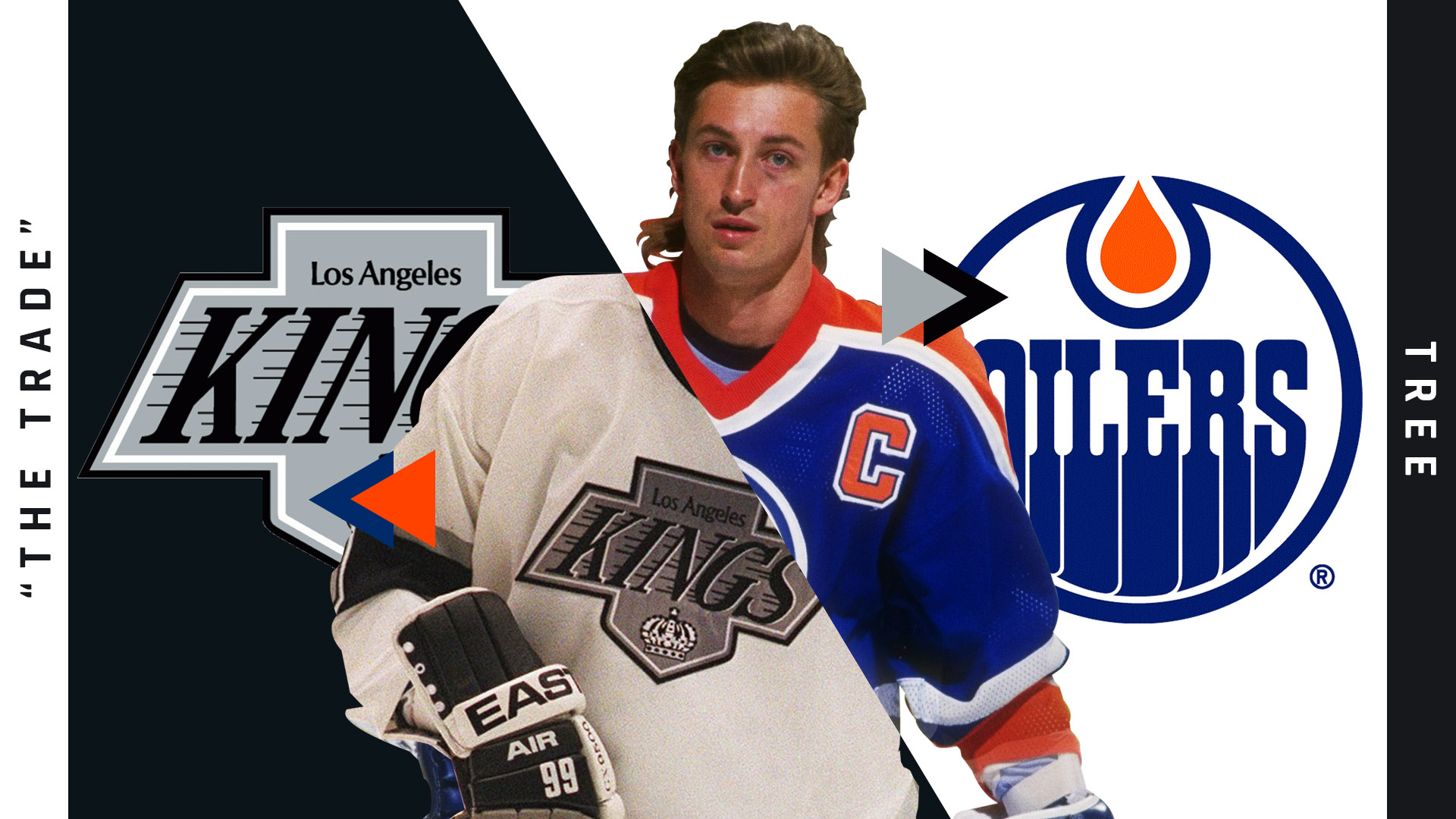 finest selection 55eee c03e8 Wayne Gretzky trade tree: 'The Trade' and the many branches ...