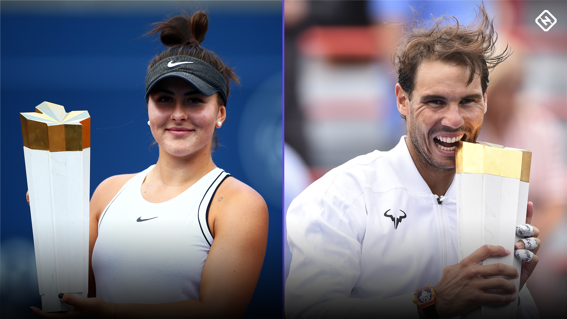 Bianca Andreescu, Rafael Nadal withdraw from Western Southern Open after Rogers Cup victories