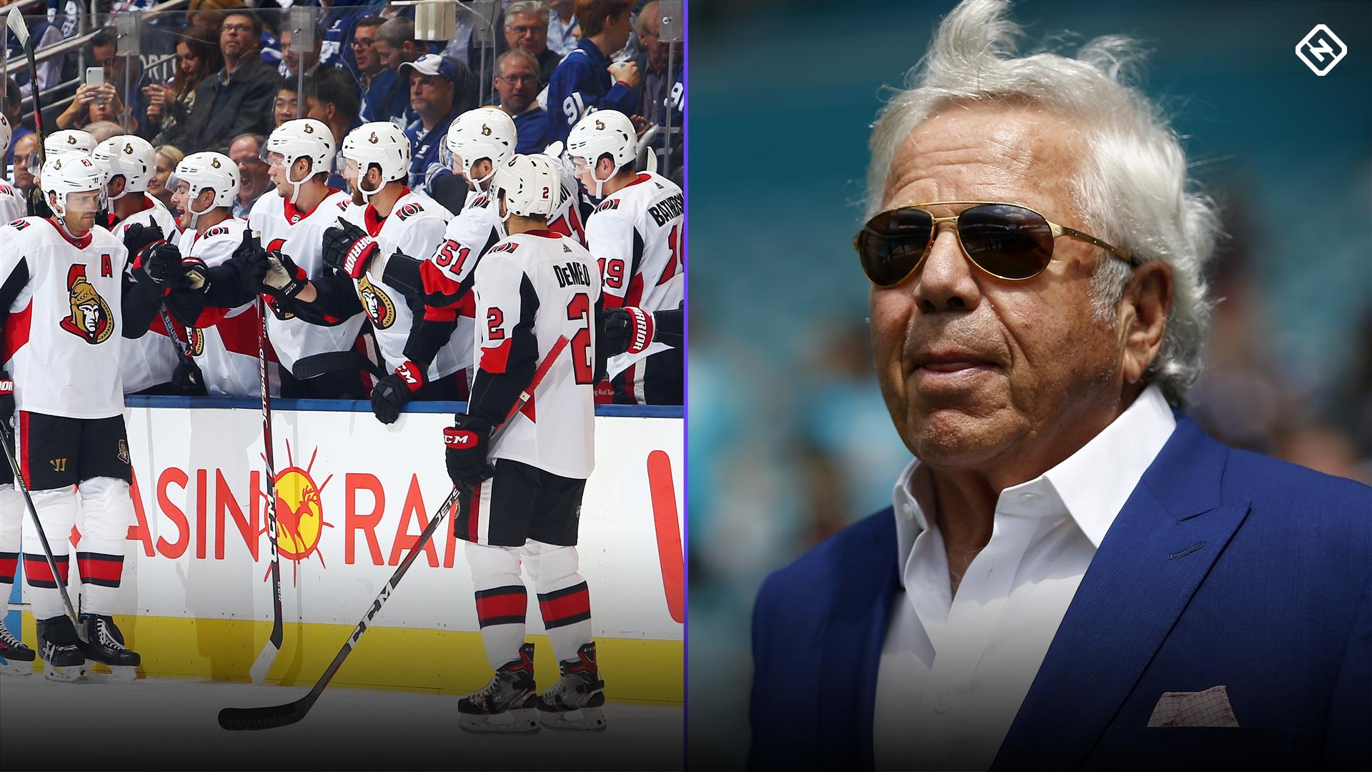 Ottawa Senators for sale? Snapchat post sparks theories Robert Kraft is buying team