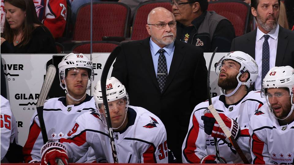 Barry Trotz denies saying he's leaving the Capitals