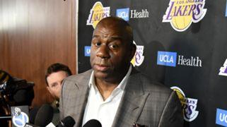Magic Johnson Los Angeles Lakers