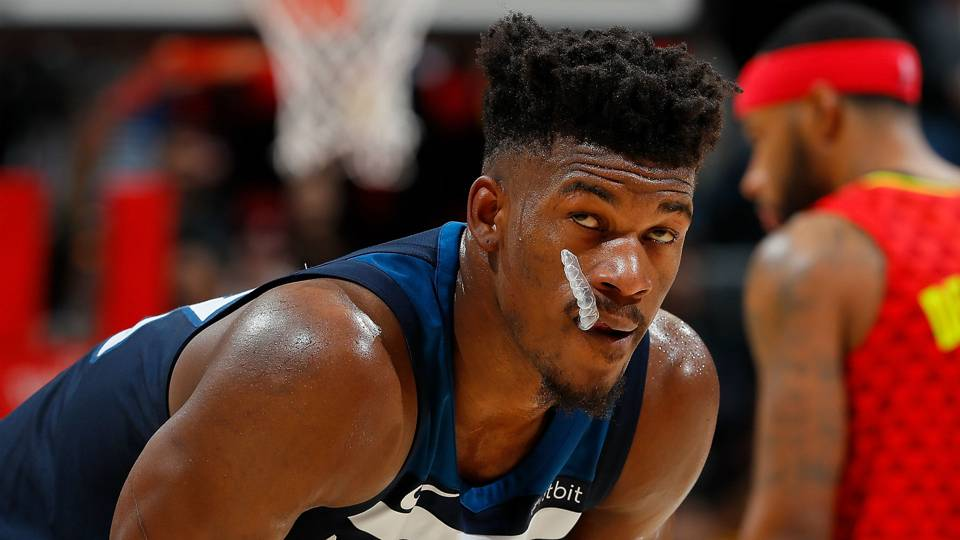 Timberwolves won't be sticking to Jimmy Butler's list in trade talks, SN sources say