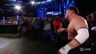 WWE スマックダウン #996 WWE王座 AJスタイルズ サモア・ジョー