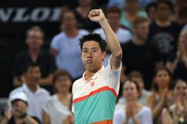 kei nishikori brisbane jan 3