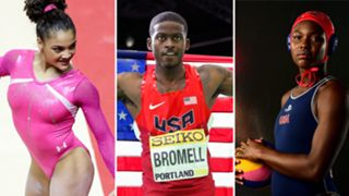 Laurie Hernandez-Trayvon Bromell-Ashleigh Johnson-072716-GETTY-FTR.jpg