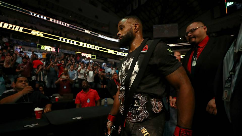 UFC 228: Tyron Woodley open to defending title at MSG against Colby Covington