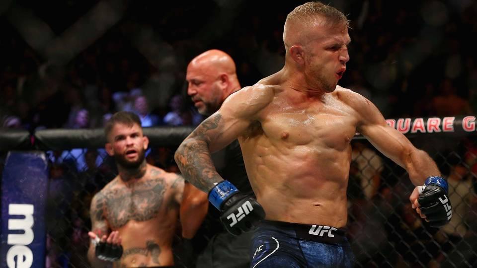 UFC 227: Dillshaw vs Garbrandt 2 betting odds