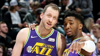 Joe Ingles, Donovan Mitchell