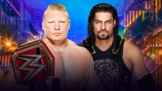 WWE レッスルマニア 34 レインズ レスナー