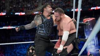WWE バックラッシュ ローマン・レインズ サモア・ジョー