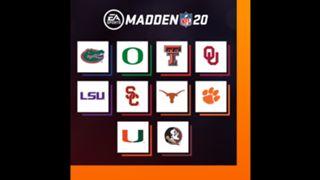 Madden NFL 20 Colleges