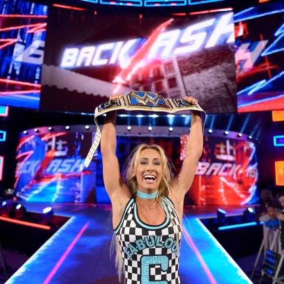 WWE バックラッシュ SD女子王座戦