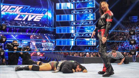 WWE, スマックダウン, #1011, 中邑真輔がルセフに報復