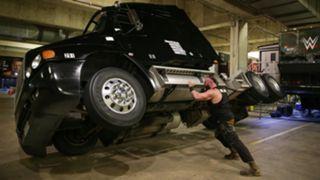 RAW #1286 Strowman wildly destructive rampage