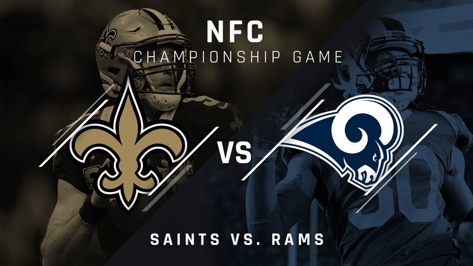 Image result for Saints vs Rams Live Streaming NFL Football NFC CHAMPIONSHIP Playoff