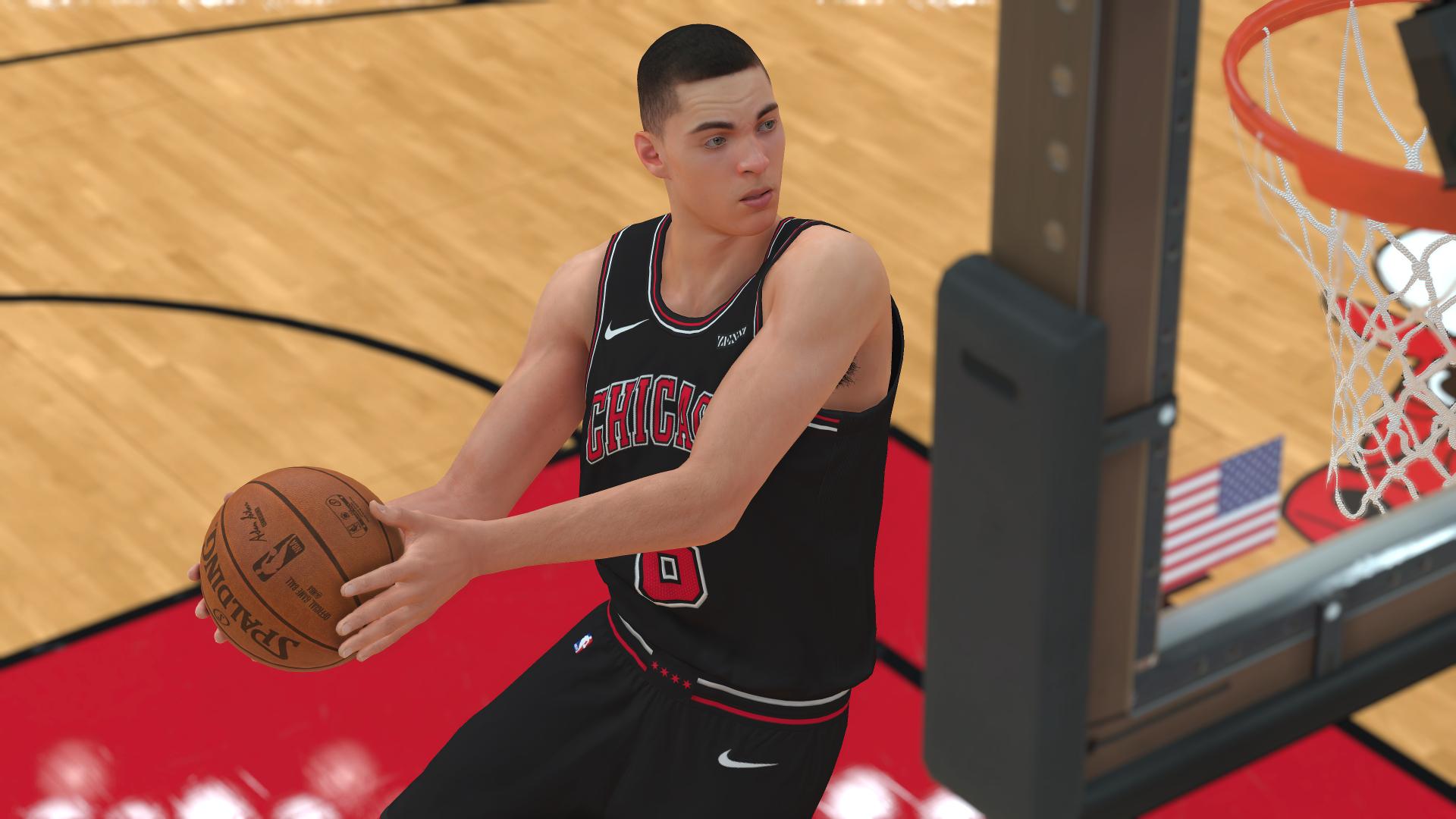 Zach LaVine NBA 2K19