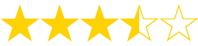 3 1/2 Stars
