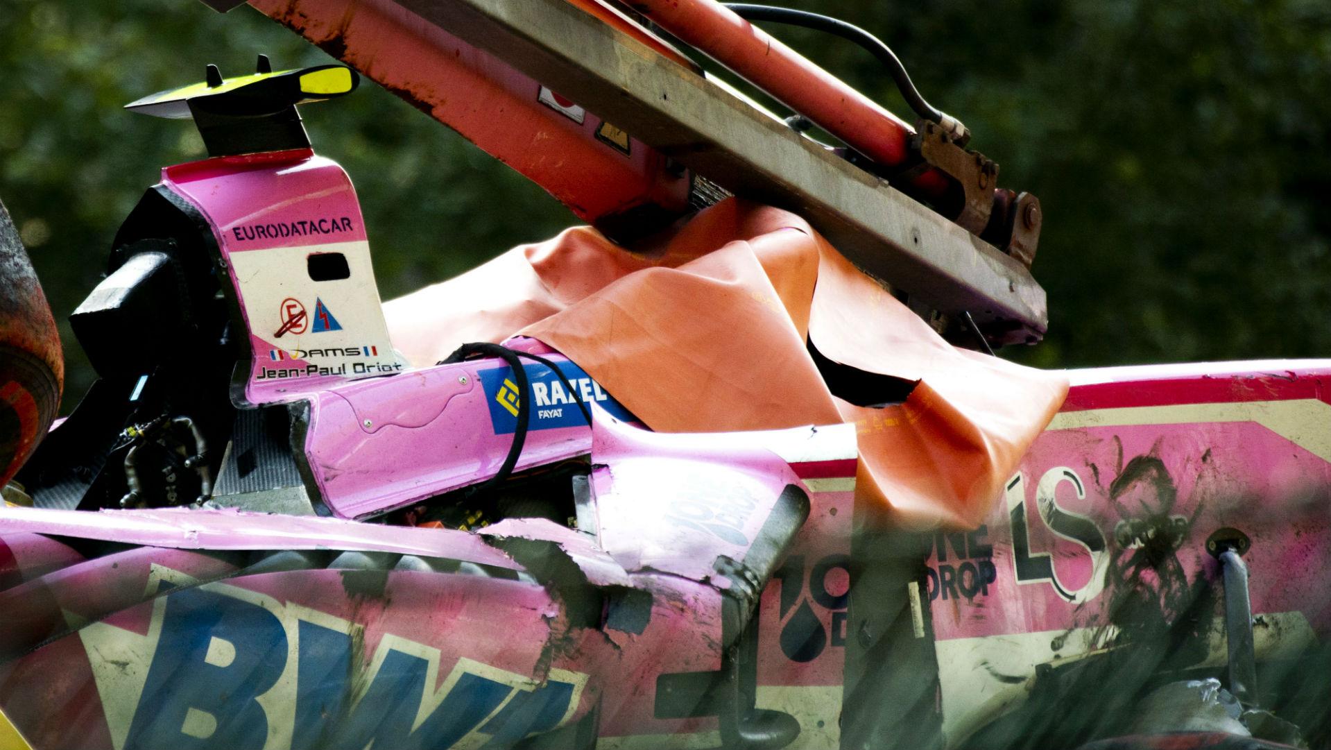 Anthoine Hubert dies in Formula 2 crash at Belgian Grand Prix