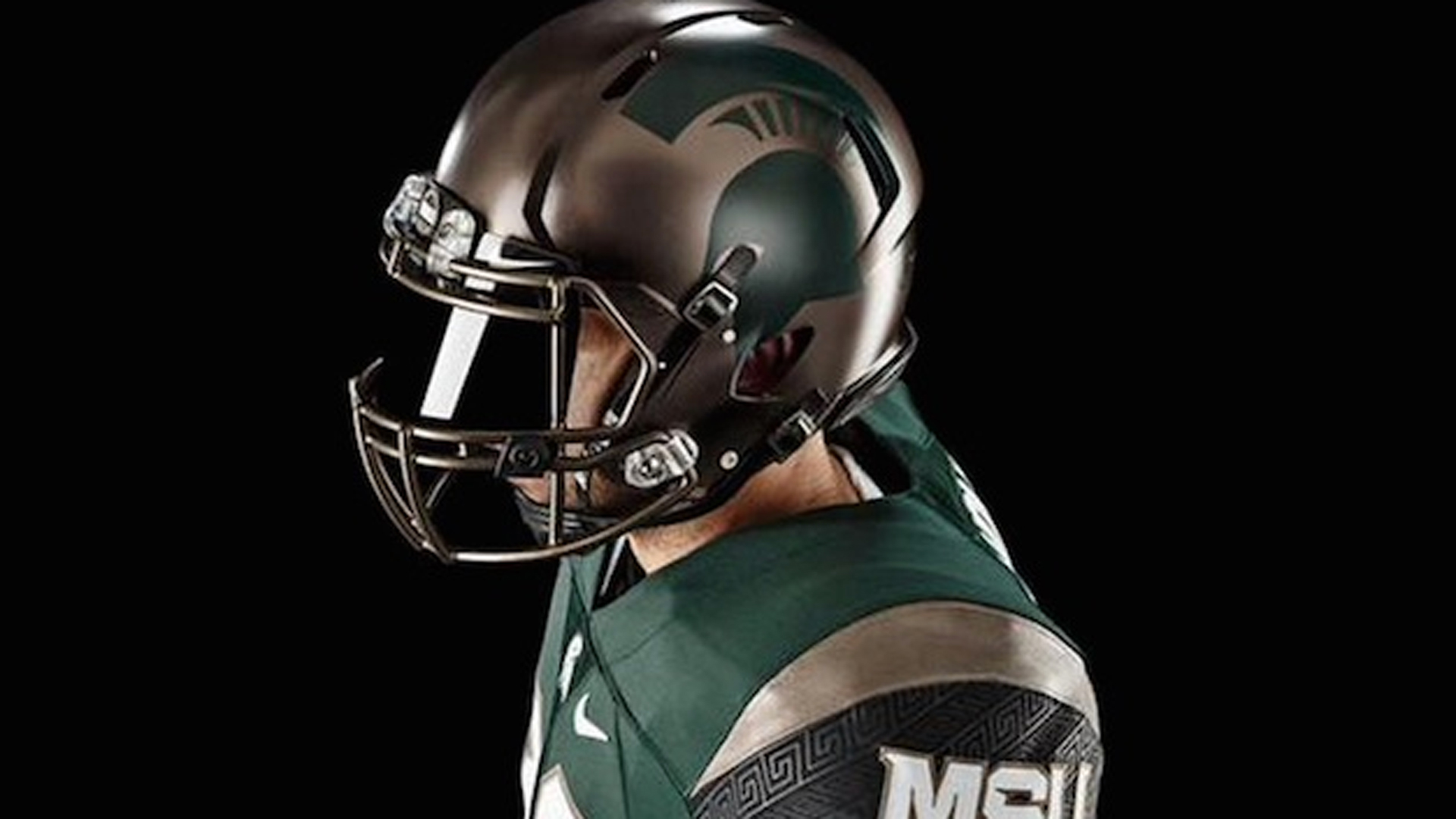 323a9aaddfb Michigan State s new alternate uniforms inspired by ancient battle  formation