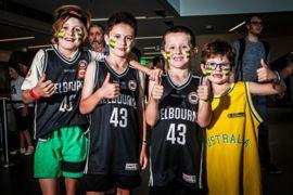 Australia basketball fans FIBA