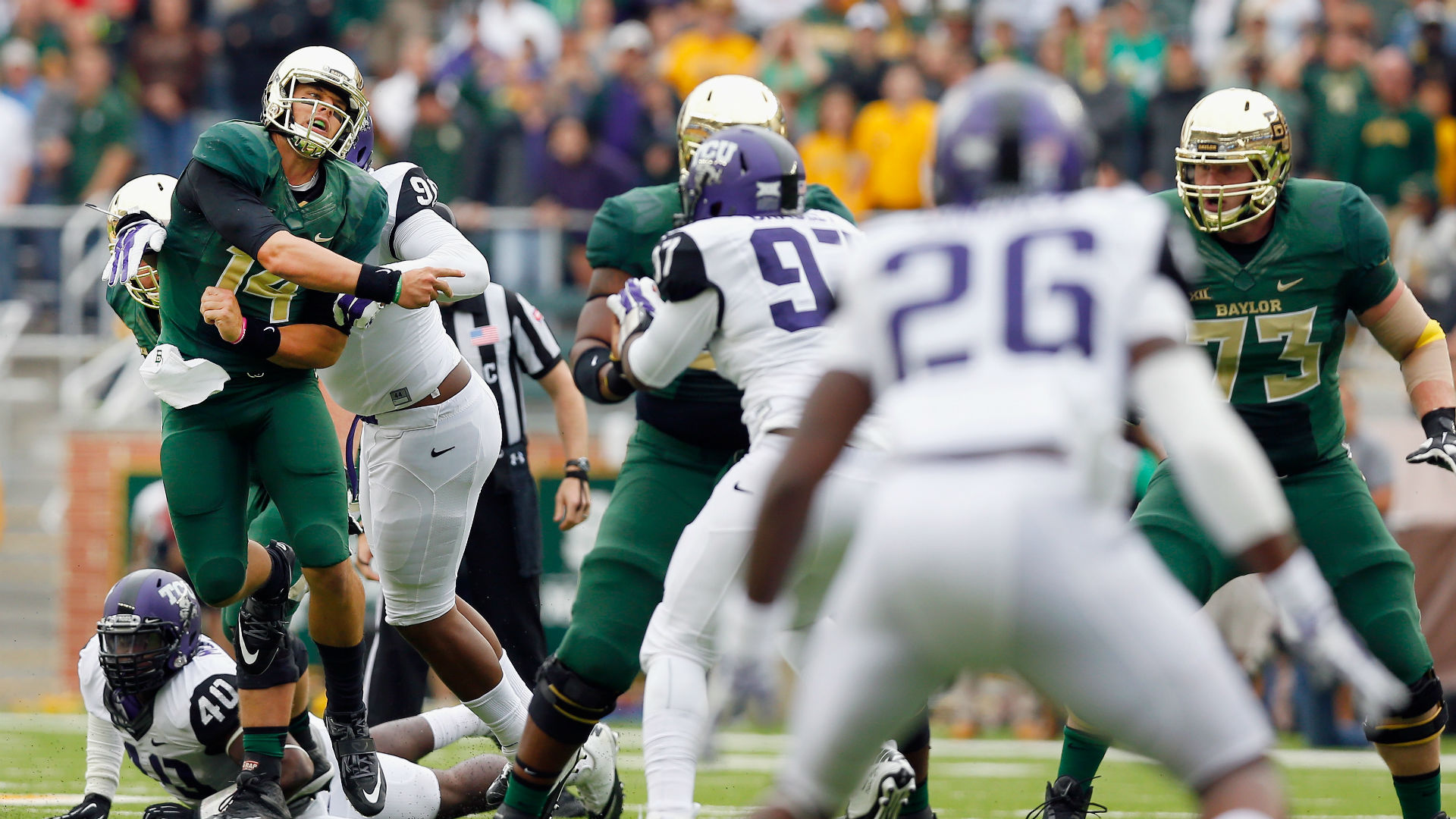 TCU returns kickoff for 94-yard touchdown against Baylor