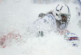 Bills vs. Colts snow game