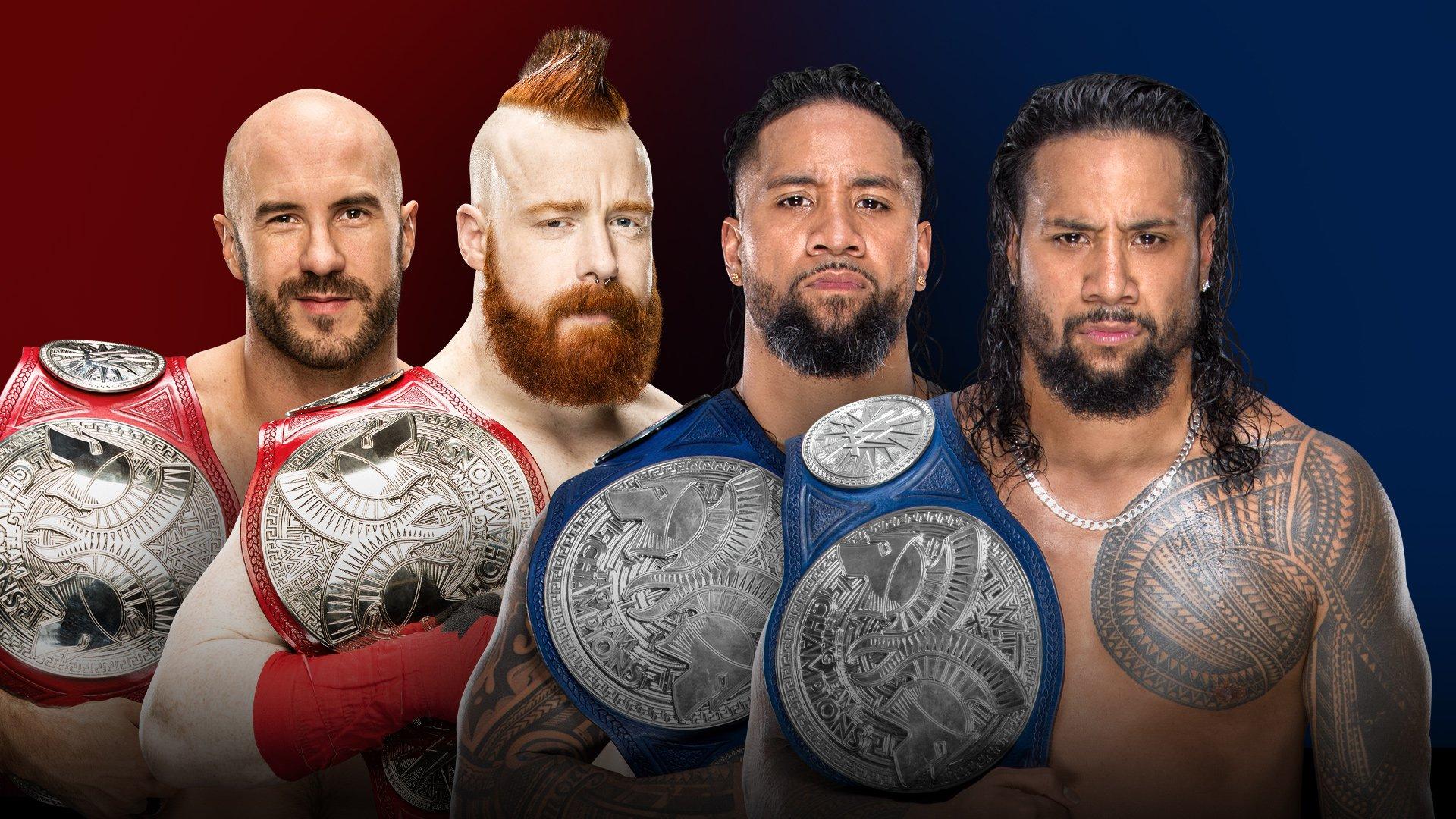 Raw vs. SMACKDOWN タッグ王者対決