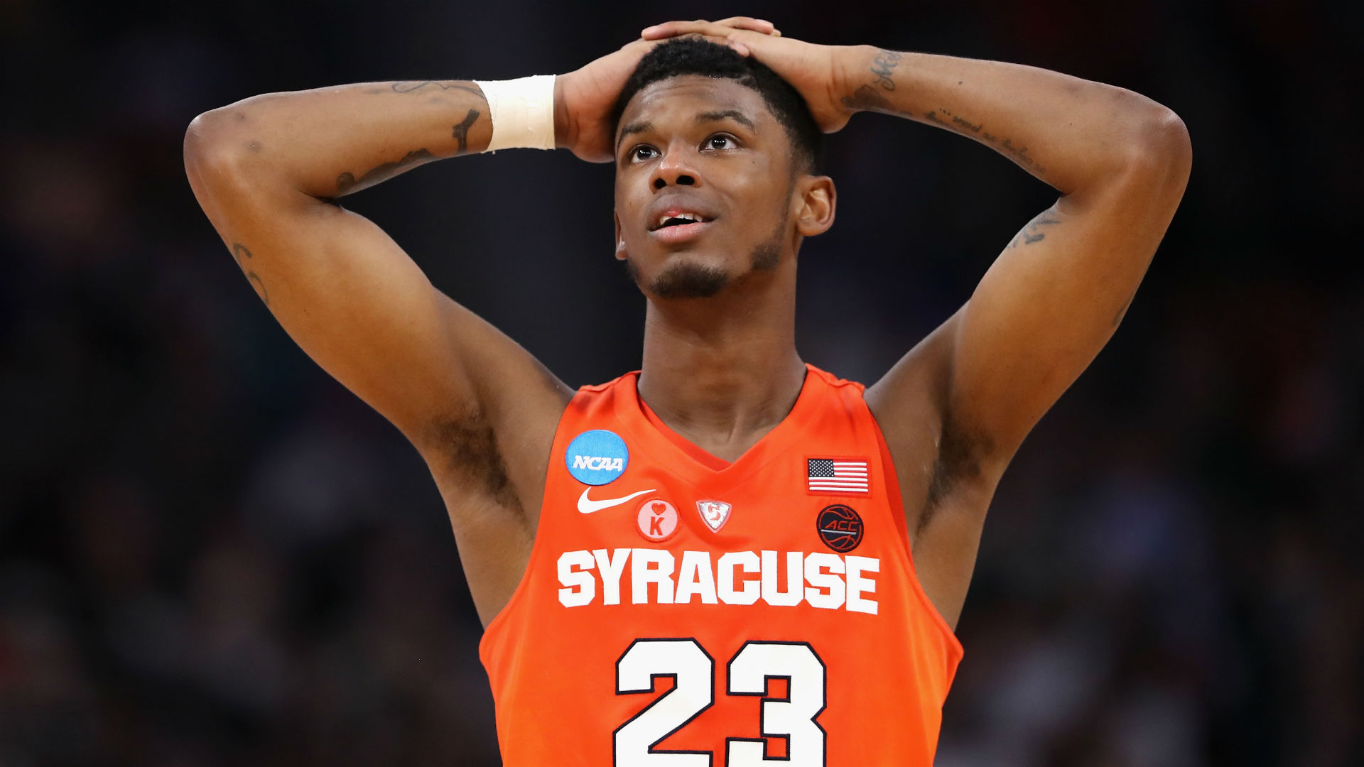 March Madness Frank Howard Suspended Indefinitely By: March Madness 2019: Syracuse Suspends Frank Howard; PG To