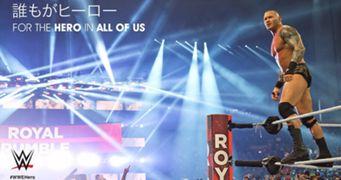WWE「誰もがヒーロー」プロジェクト