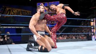 FASTLANE 2018 Nakamura vs Rusev