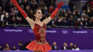 Alina Zagitova of Olympic Athlete from Russia