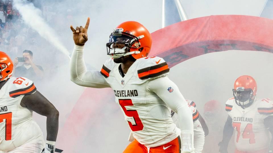 Week 1 NFL picks against spread: Browns upset Steelers; Patriots tame Texans