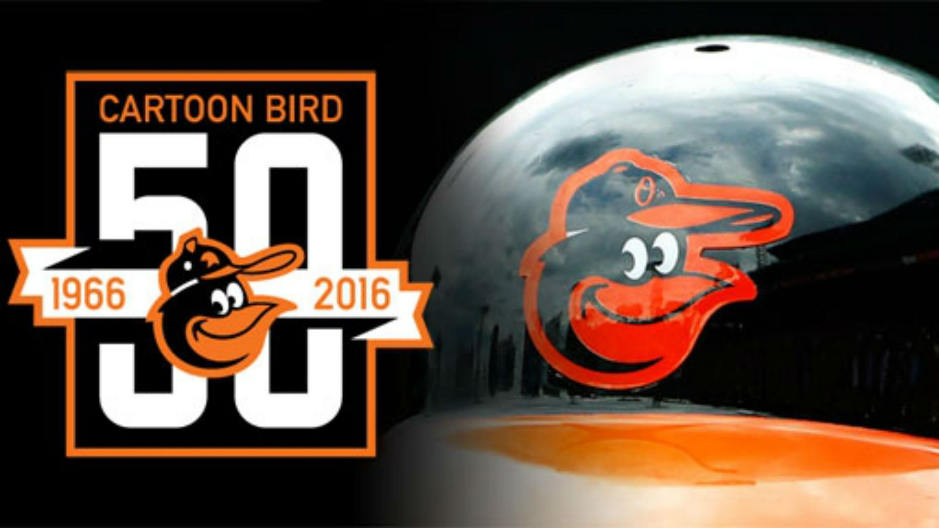 624474a7d71 All hail the Orioles  cartoon bird on its 50th anniversary ...