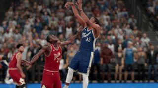 NBA 2K16 Christmas Thunder Bulls