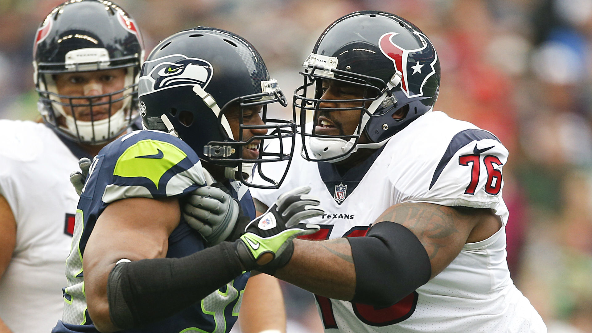 Seahawks' Duane Brown trade is an early Thanksgiving for Russell Wilson