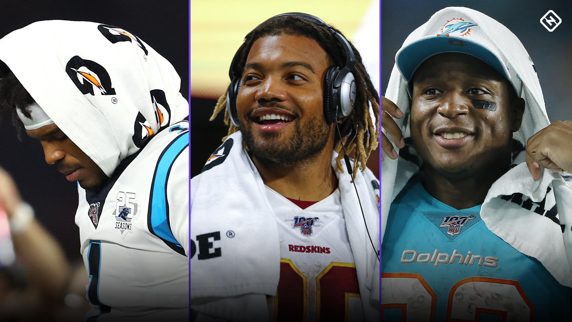 Fantasy Football Injury Updates: Cam Newton, Derrius Guice, Kenyan Drake shake up draft rankings