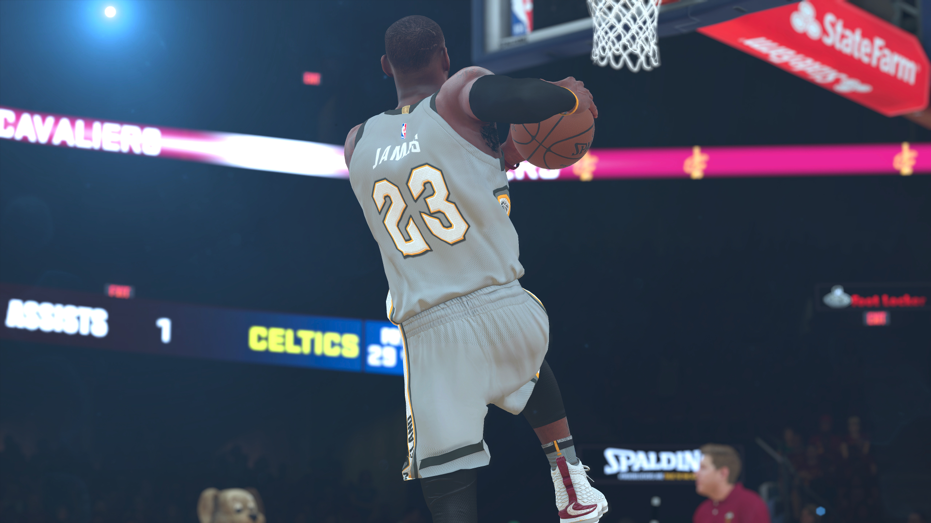 NBA 2K18 LeBron James Eastern Conference Finals