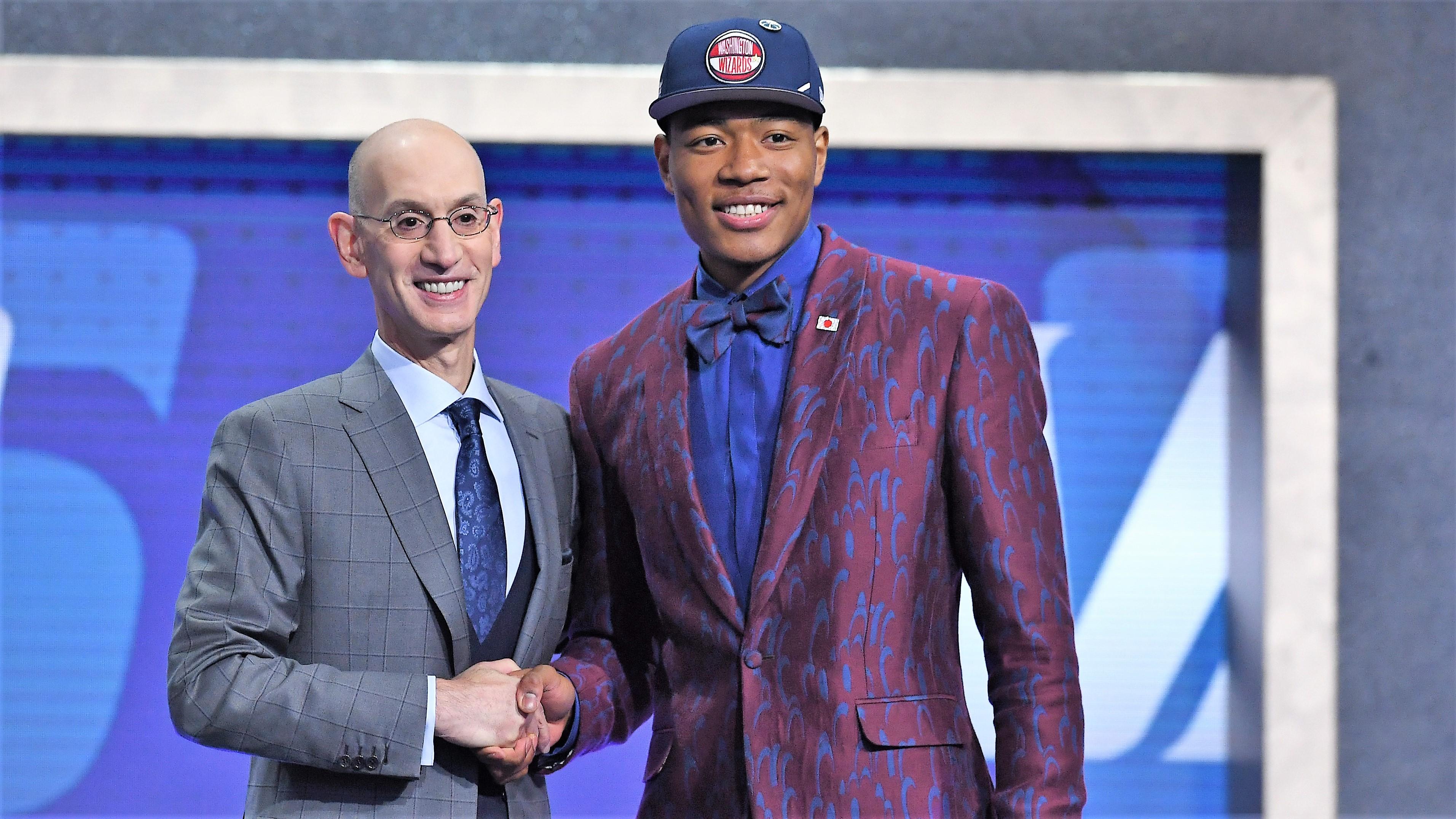 八村塁 Rui Hachimura selected Wahington Wizards at NBA Draft 2019