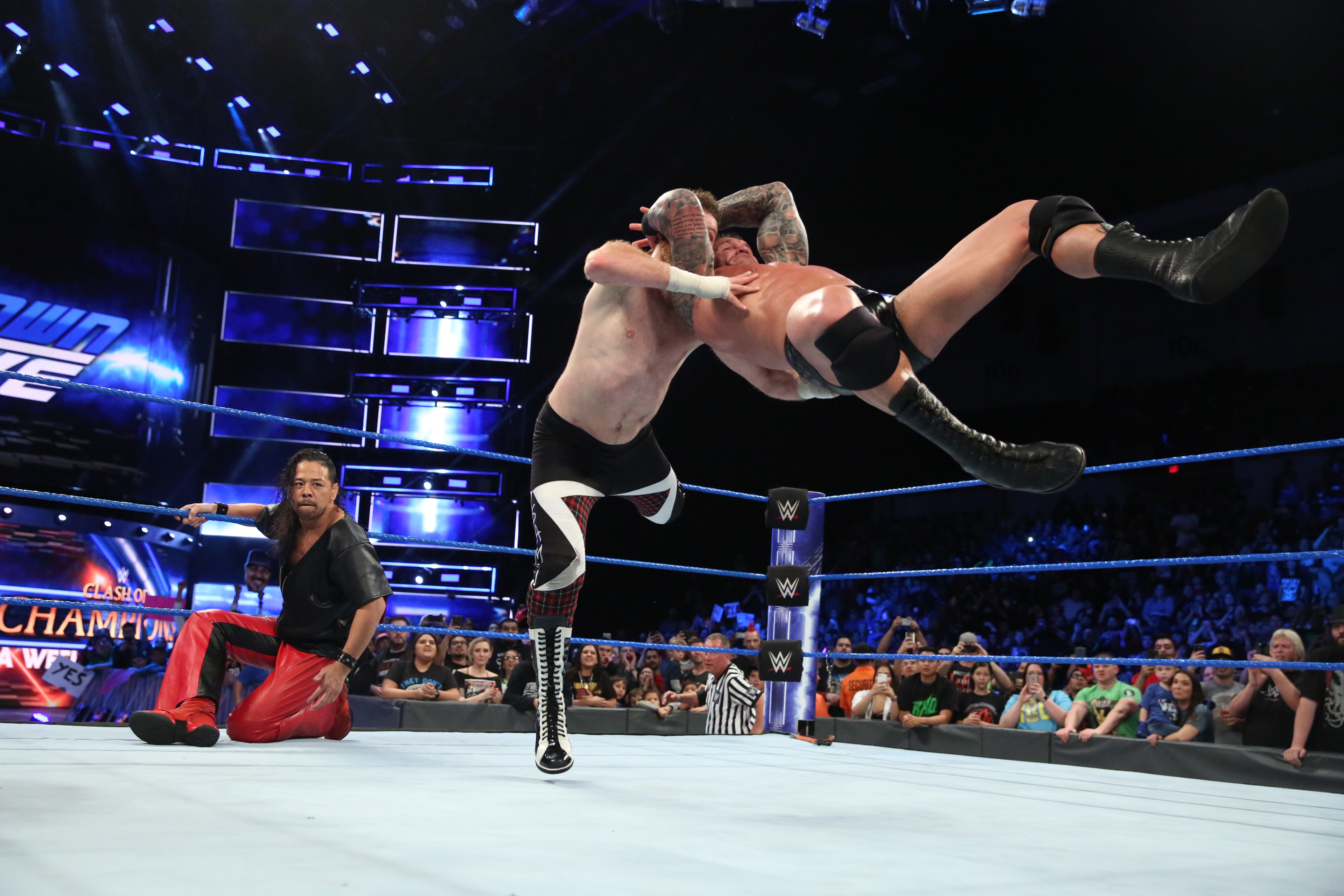 WWE『SMACKDOWN#955』はどうなった。