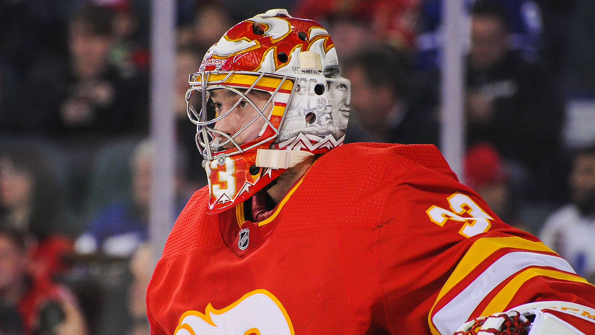 Flames secure goaltending tandem, re-sign David Rittich to two-year deal