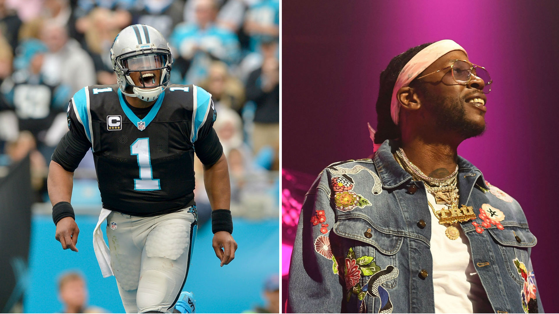 the best attitude cc81a 96f0d Cam Newton partners with rapper 2 Chainz in new Under Armour ...