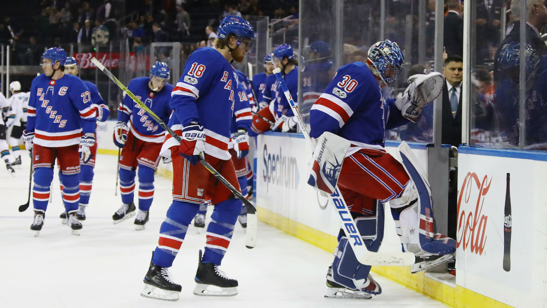 There is a glimmer of hope for struggling Rangers