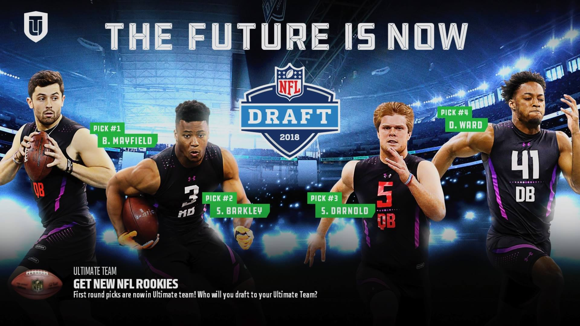 6fd528be7b NFL Draft 2018: First-round picks added to 'Madden NFL 18' | Sporting News