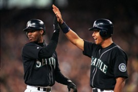 Griffey and Rodriguez