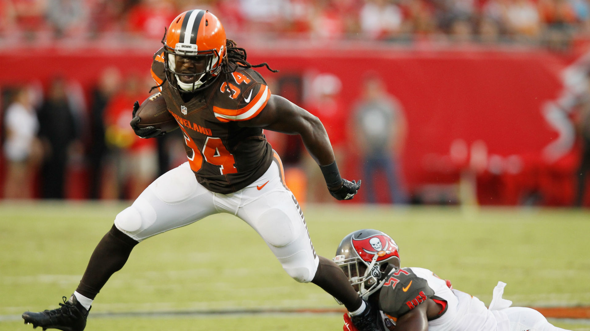 release date 09287 b82db Duke Johnson, Isaiah Crowell fantasy outlooks cloudy as ...
