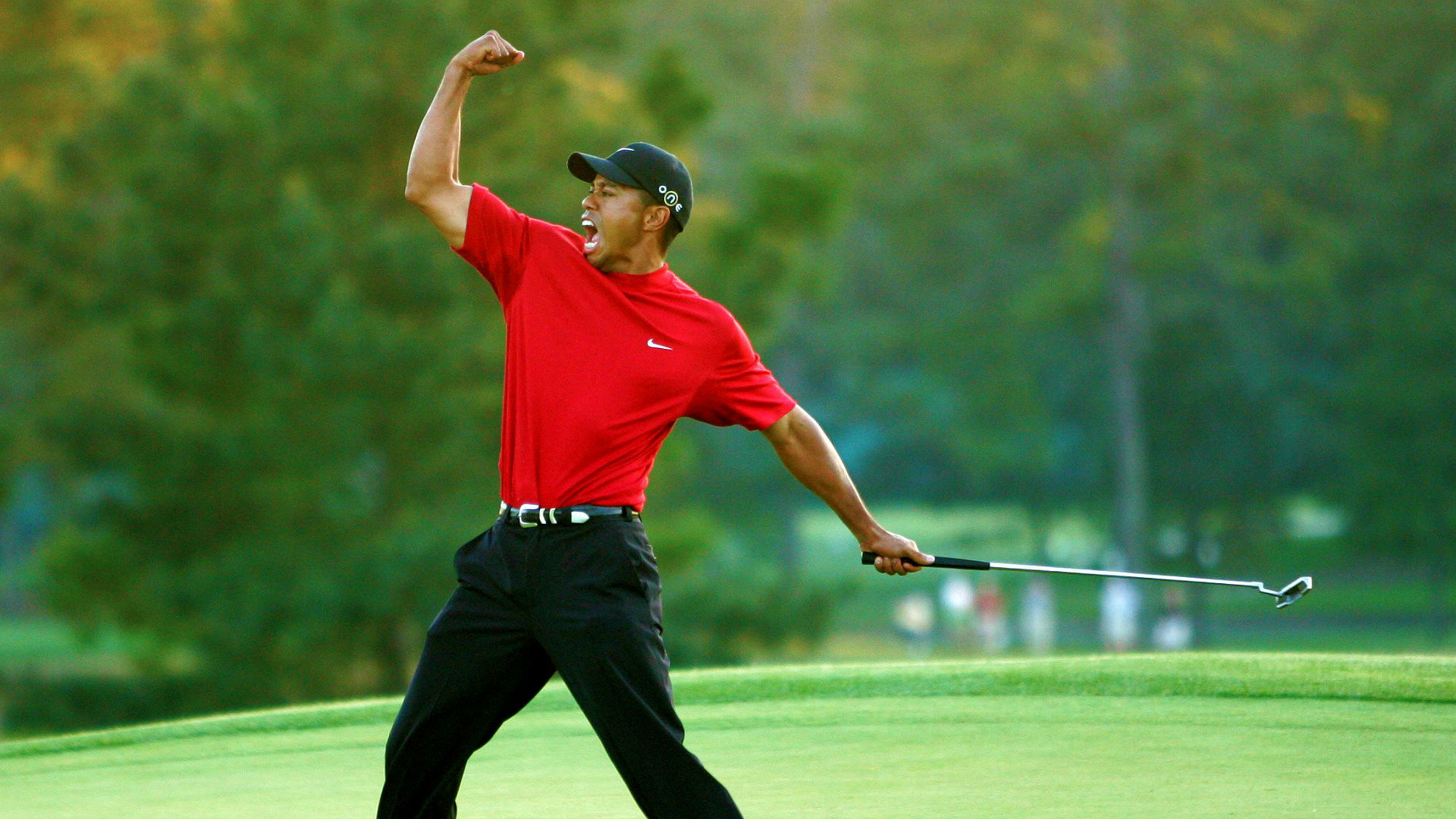 tiger woods u0026 39  history and wins at the masters