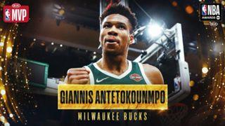 2018-19 MVP Giannis Antetokounmpo